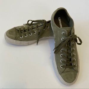 NWOB• Converse• Men's low top style green